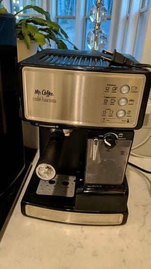 Mr Coffee Cafe Barista Espresso, Cappuccino and Latte Maker for Sale in Apex, NC