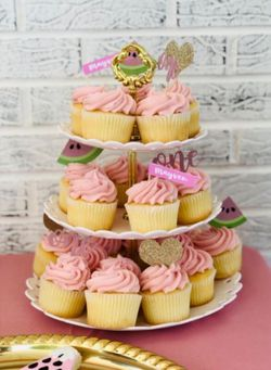 Wow Everyone With This 3-Tier Cupcake/Dessert Stand For Any Occasion!  for Sale in Frederick, MD