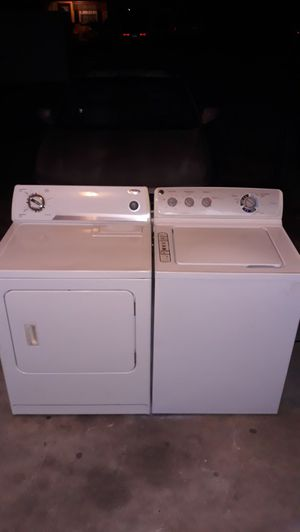 GE WASHER AND WHIRLPOOL DRYER for Sale in Bartow, FL