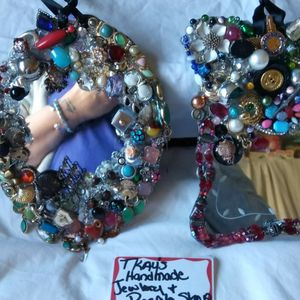 #4lot Is 2hanging Mirrors Wall Decor Decorated By Tkays for Sale in Fort Worth, TX