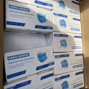 50 Pack 3-PLY Blue Face Mask for Sale in Rowland Heights, CA