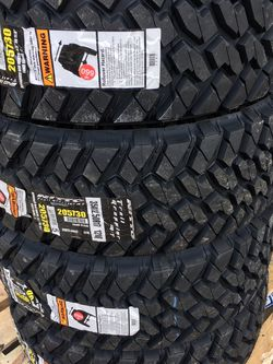 35x12.50-17 Nitto Trail Grappler for Sale in Houston,  TX