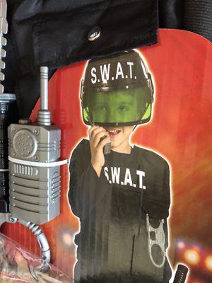 SWAT costume age 3+ two sets $10 ea New NIP for Sale in Santa Clara, CA
