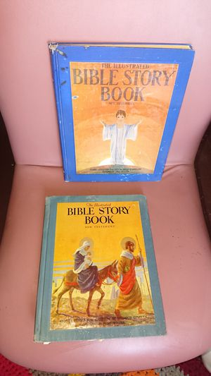 Two vintage 1925/1947 Bible Story Books for Sale in Phoenix, AZ