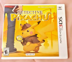 NINTENDO 3DS DETECTIVE PIKACHU 100%💥💥 for Sale in Escondido, CA