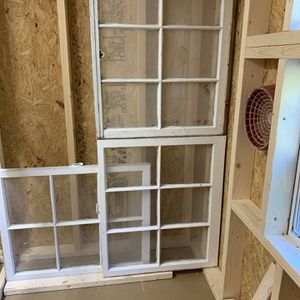 """Old Shabby Chic 6 pane Antique Vintage Window Frame. Mantel Wreath Display 26""""L 31""""W """"""""$25 Each """""""" for Sale in Farmingdale, NY"""