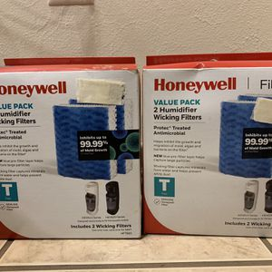 Honeywell Humidifier Wicking Filter 2 boxes for Sale in Haughton, LA