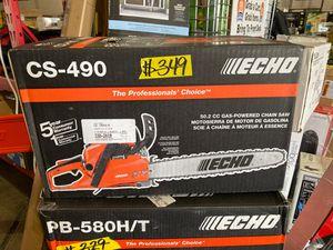 ECHO 20 in. 50.2 cc Gas 2-Stroke Cycle Chainsaw for Sale in Phoenix, AZ