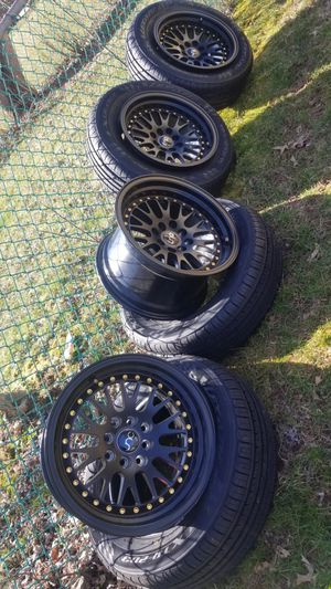 15 Inch Jnc Rims (4 Lugs) for Sale in Manassas, VA