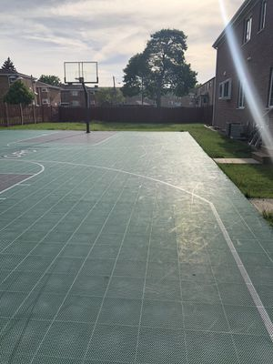 Basketball courts with 2 hoops ALL AS SET for Sale in Addison, IL