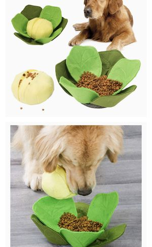 Dog Puzzle Toys,Pet Snuffle Mat Large Cabbage Shaped Dog Feeding Mats Training Pad Food Dispenser,Interactive Feed Game for Boredom,Encourages Natura for Sale in Hacienda Heights, CA