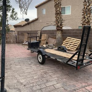 2011 Trailer 14x5 (comes with TITLE) for Sale in Henderson, NV