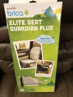 Brica by Munchkin Elite Seat Guardian - Tan - NEW! Reg $37 for Sale in Dallas, GA