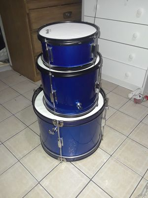 Drum set only 3 for Sale in Chicago, IL