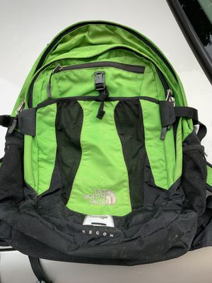 The north face recon green backpack for Sale in Washington, DC