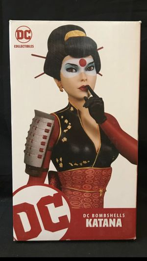 DC Collectibles Bombshells KATANA Statue. for Sale in Tustin, CA