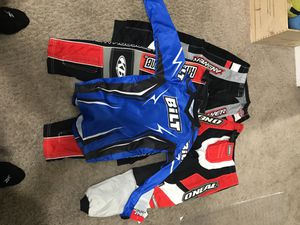 Motorcycle Gear for Kids 12T/14T 3 pants, 1 shirt $40 dlls obo. for Sale in Las Vegas, NV