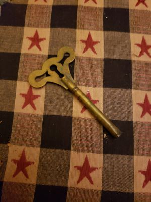 Antique brass clock key for Sale in Columbus, OH