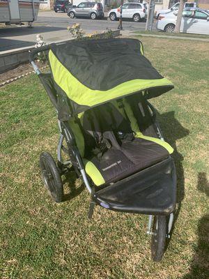 Double stroller in Fontana. Pickup only for Sale in Pomona, CA