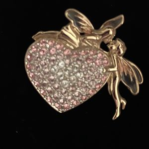 Beautiful Monet Heart Pin / Brooch for Sale in Albuquerque, NM