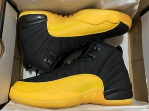 Jordan 12 Retro Black University Gold for Sale in Seattle, WA