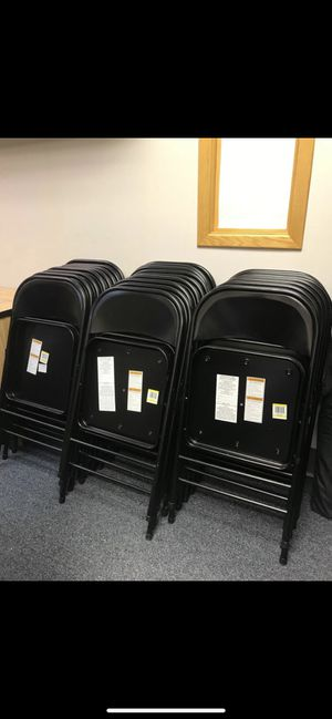Foldable party and office chairs for Sale in Fort Lauderdale, FL