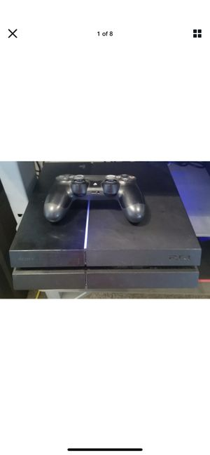 PS4 500GB +Games & Controller for Sale in Washington, DC