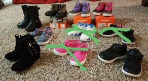 Toddler size 6 shoe lot for Sale in Alexandria, VA