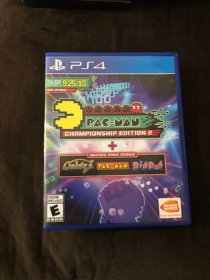 pac man championship edition 2 + arcade game series ps4 games for Sale in Phoenix, AZ