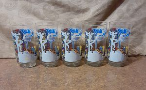 """Vintage 1981 Miss Piggy """"The Great Muppet Caper"""" Henson/McDonald's Collectible Glass (Lot of 5) - VGC for Sale in Fox Lake, IL"""