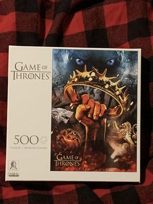 NEW BUFFALO GAME OF THRONES PUZZLE THERE IS ONLY ONE WAR THAT MATTERS 500 PCS for Sale in Miramar, FL