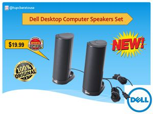 Dell Desktop Computer Speaker Set for Sale in Orlando, FL