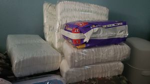 445 diapers size 1 for Sale in Kingsburg, CA
