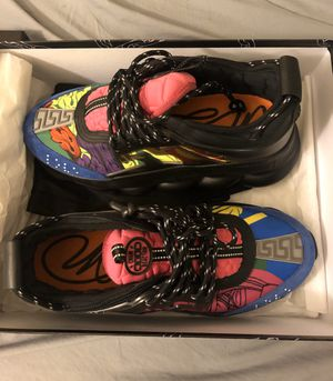 Versace Chain Reaction Sneakers Size 43 IT for Sale in Los Angeles, CA