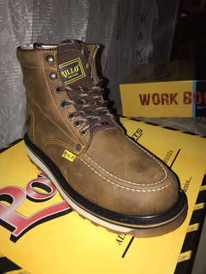 Work boots for Sale in Fresno, CA