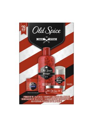 Old Spice Swagger 4-Piece Gift Set with Deodorant, 2 in 1 Shampoo, Pomade and Beard Balm for Sale in Miami, FL
