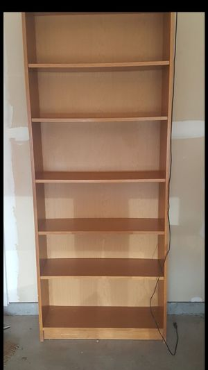 Books shelf/ cabinet with light for Sale in Haymarket, VA