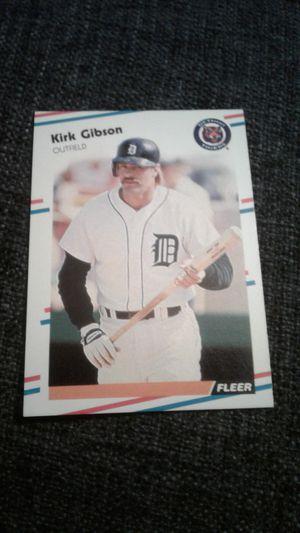 Kirk Gibson. 1988 Fleer Baseball Card #55 for Sale in Los Angeles, CA