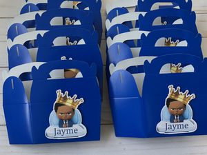 Boss Baby Birthday / Baby Shower Favor Boxes for Sale in Clarksburg, MD