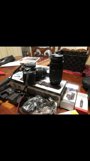 Canon eos t6 bundle for Sale in Perris, CA