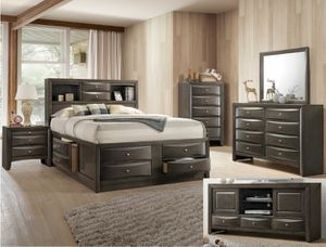 Brand New Queen Storage Bed Set for Sale in US