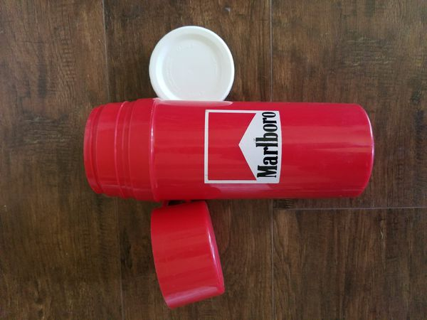 Vintage Marlboro thermos