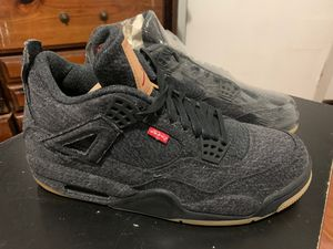 Levi's x Air Jordan 4 Retro 'Black Denim' for Sale in Los Angeles, CA