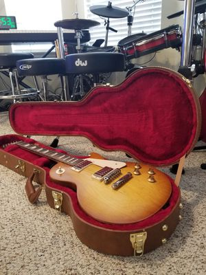 Gibson Les paul Tribute Satin 2019 Honeyburst Guitar With Authentic Hardcase Brand new for Sale in Rancho Santa Margarita, CA