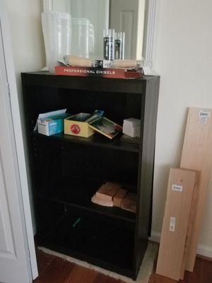 Bookshelf black from Target for Sale in Rockville, MD