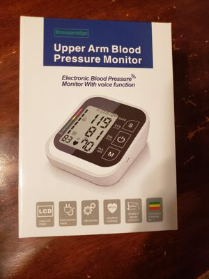 Upper Arm Blood Pressure Monitor-Brand New for Sale in Nashville, TN