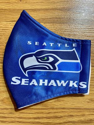 Seattle Seahawks Face Masks Protection for Sale in Glendale, AZ