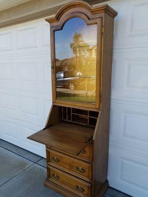 Vintage curio desk for Sale in Wildomar, CA