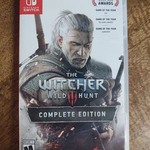 Witcher 3 Wild Hunt Nintendo Switch for Sale in Cleveland, OH