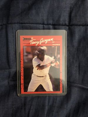 Tony gwynn vintage donruss collectible card for Sale in Culver City, CA